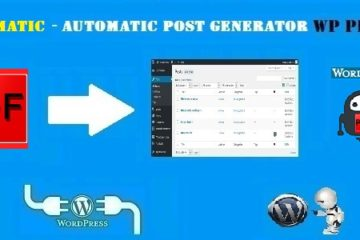 Pdfomatic Automatic Post Generator Plugin for WordPress