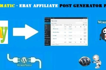 Ebayomatic – Ebay Affiliate Automatic Post Generator WordPress Plugin