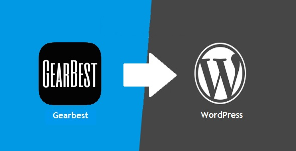 Gearomatic – GearBest Affiliate Post Importing Money Generator Plugin for WordPress