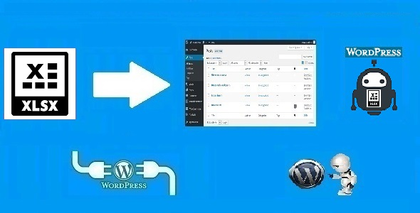 Xlsxomatic Automatic Post Generator Plugin for WordPress