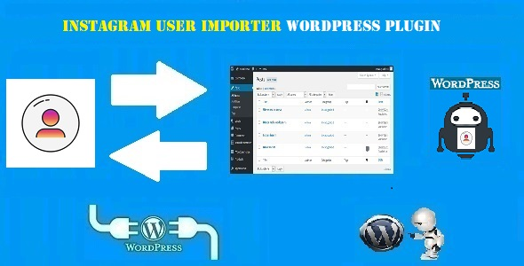 Instagram User Importer Plugin for WordPress