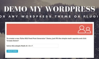 Demo My WordPress – Temporary WordPress Install Creator
