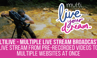 MultiLive – Multiple Live Stream Broadcaster Plugin for WordPress