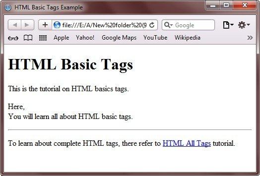 html-basic-tags