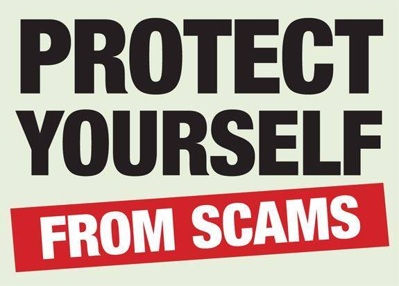 protect from scams