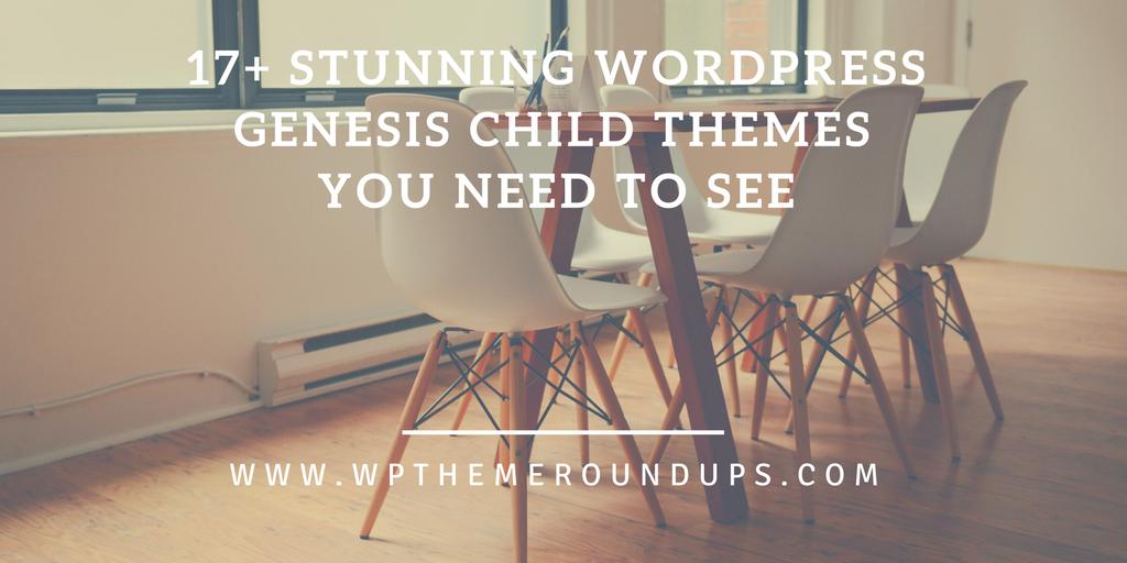WordPress Genesis child themes social image