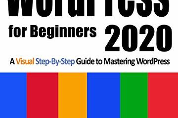 WordPress for Beginners 2020 ebook review