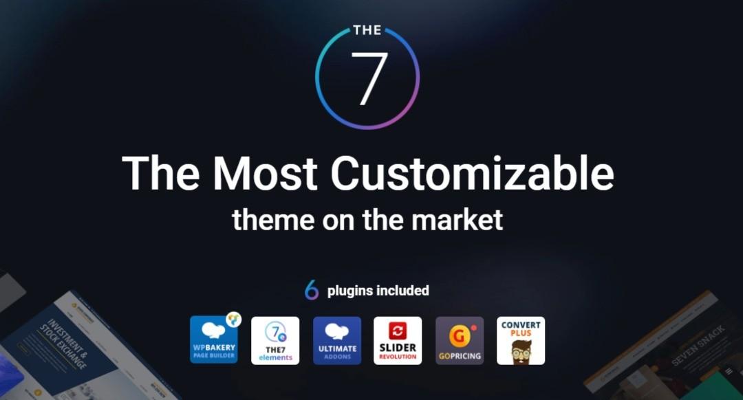 The7 — Multi-Purpose Website Building Toolkit for WordPress